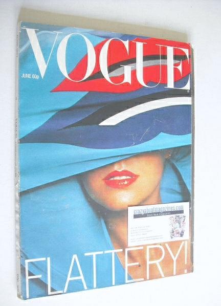 <!--1977-06-->British Vogue magazine - June 1977 (Vintage Issue)