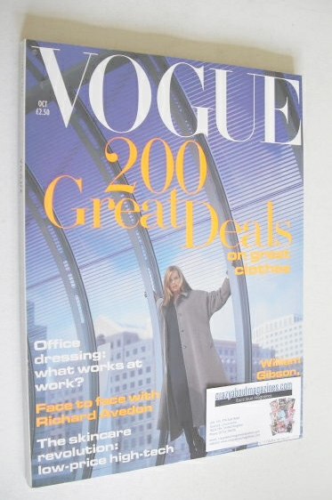 <!--1993-10-->British Vogue magazine - October 1993