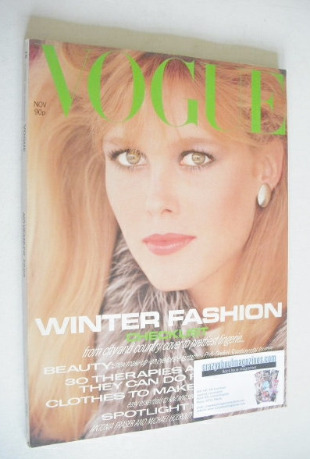 <!--1980-11-->British Vogue magazine - November 1980 (Vintage Issue)