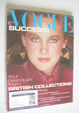 <!--1980-09-15-->British Vogue magazine - 15 September 1980 (Vintage Issue)