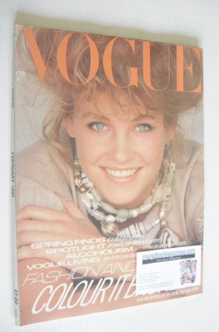 <!--1981-02-->British Vogue magazine - February 1981 (Vintage Issue)