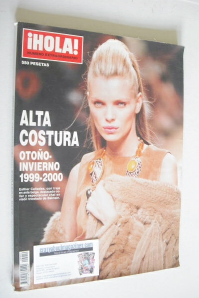iHOLA! Fashion magazine - Alta Costura 1999-2000