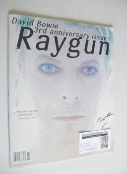 Raygun magazine - David Bowie cover (October 1995)