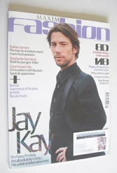 MAXIM Fashion magazine - Jay Kay cover (Spring/Summer 2002)