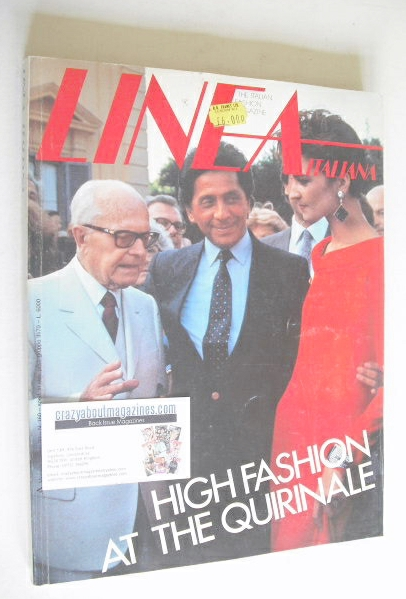 Linea Italiana magazine (September 1984)