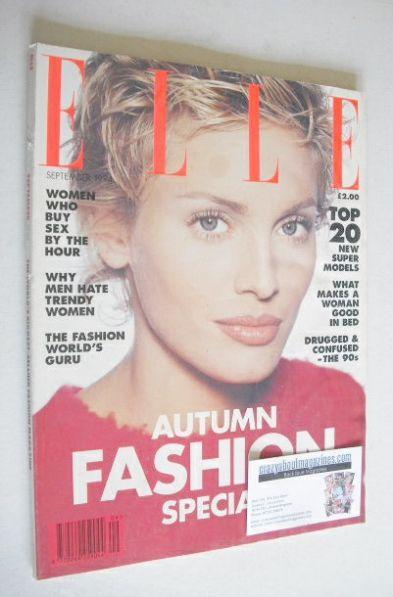 <!--1994-09-->British Elle magazine - September 1994 - Beri Smither cover