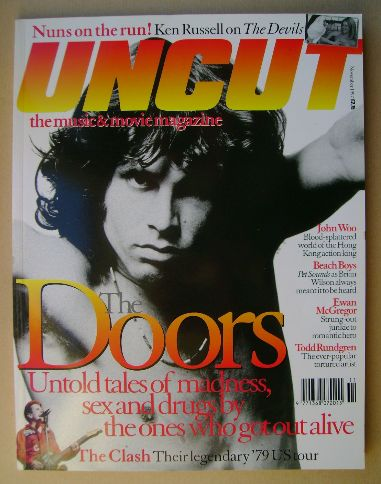 <!--1997-11-->Uncut magazine - Jim Morrison cover (November 1997)