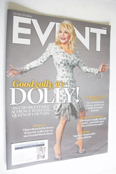 <!--2014-04-27-->Event magazine - Dolly Parton cover (27 April 2014)