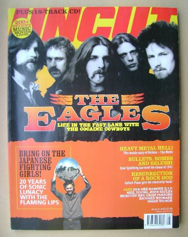 <!--2002-08-->Uncut magazine - The Eagles cover (August 2002)