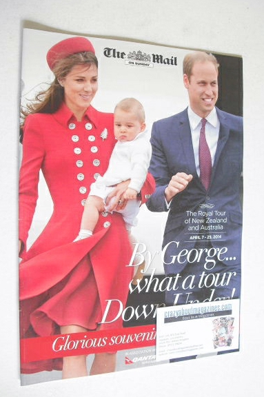 The Mail On Sunday supplement - The Duke and Duchess of Cambridge and Princ