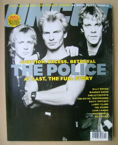 <!--2002-04-->Uncut magazine - The Police cover (April 2002)