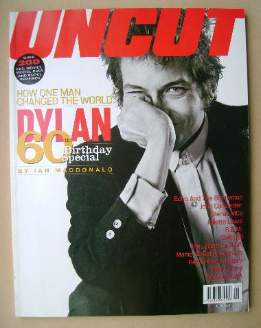 <!--2001-06-->Uncut magazine - Bob Dylan cover (June 2001)