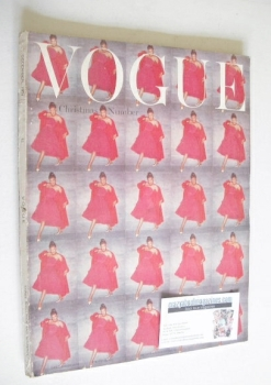British Vogue magazine - December 1954 (Vintage Issue)