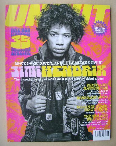 <!--2002-05-->Uncut magazine - Jimi Hendrix cover (May 2002)