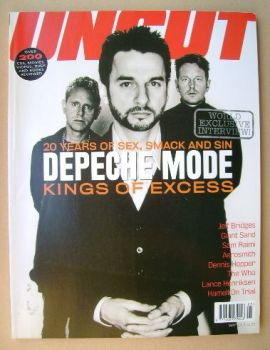 Uncut magazine - Depeche Mode cover (May 2001)