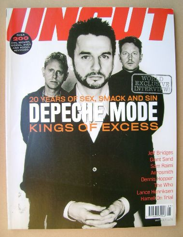 <!--2001-05-->Uncut magazine - Depeche Mode cover (May 2001)