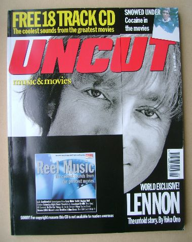 <!--1998-01-->Uncut magazine - John Lennon cover (January 1998)