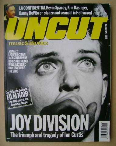 <!--1997-12-->Uncut magazine - Ian Curtis cover (December 1997)