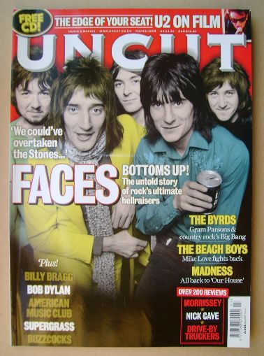 <!--2008-03-->Uncut magazine - The Faces cover (March 2008)
