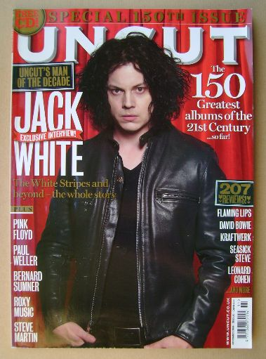 <!--2009-11-->Uncut magazine - Jack White cover (November 2009)