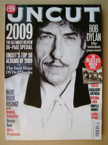 <!--2010-01-->Uncut magazine - Bob Dylan cover (January 2010)