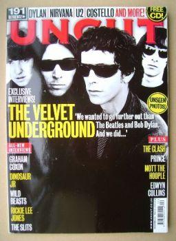 Uncut magazine - The Velvet Underground cover (December 2009)