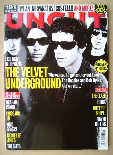 <!--2009-12-->Uncut magazine - The Velvet Underground cover (December 2009)