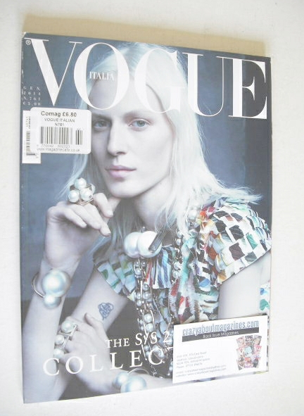 <!--2014-01-->Vogue Italia magazine - January 2014 - Julia Nobis cover