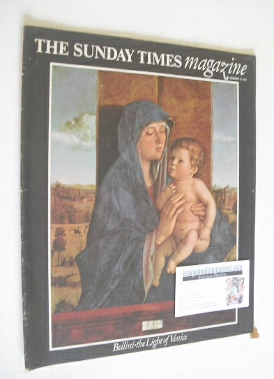 <!--1975-12-14-->The Sunday Times magazine - Bellini, The Light Of Venice c