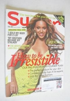 Sugar magazine - Beyonce Knowles cover (March 2005)