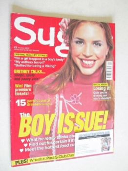 Sugar magazine - The Boy Issue (January 2002)