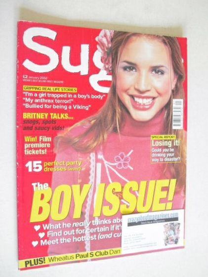 <!--2002-01-->Sugar magazine - The Boy Issue (January 2002)