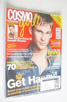 Cosmo Girl magazine - Lee Ryan cover (April 2002)