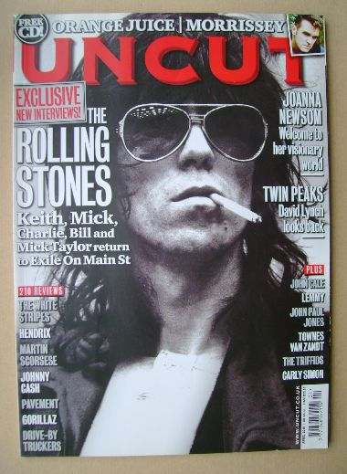 <!--2010-04-->Uncut magazine - Keith Richards cover (April 2010)