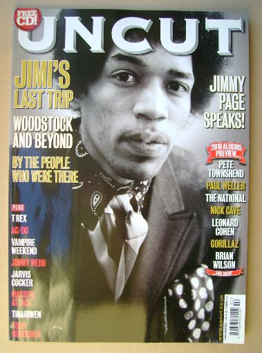 <!--2010-02-->Uncut magazine - Jimi Hendrix cover (February 2010)