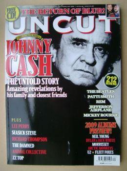 Uncut magazine - Johnny Cash cover (February 2009)