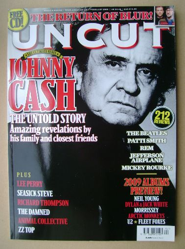<!--2009-02-->Uncut magazine - Johnny Cash cover (February 2009)
