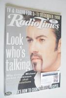 <!--1998-12-05-->Radio Times magazine - George Michael cover (5-11 December 1998)