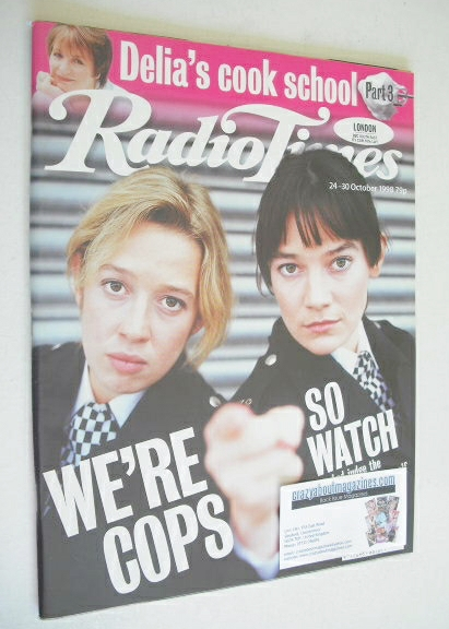 <!--1998-10-24-->Radio Times magazine - Katy Cavanagh and Clare McGlinn cov