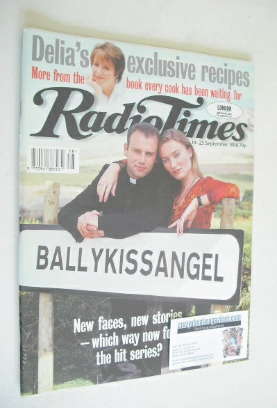 <!--1998-09-19-->Radio Times magazine - Don Wycherley and Victoria Smurfit