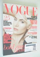 <!--2011-04-->British Vogue magazine - April 2011 - Kate Winslet cover