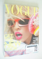 <!--2003-03-->British Vogue magazine - March 2003 - Natasha Vojnovic cover