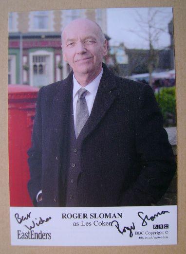 Roger Sloman autograph