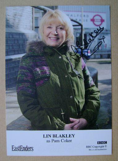 Lin Blakley autograph