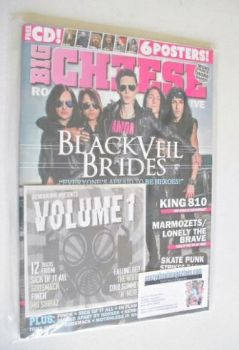 Big Cheese magazine - October/November 2014 - Black Veil Brides cover