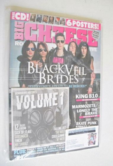 <!--2014-10-->Big Cheese magazine - October/November 2014 - Black Veil Brid