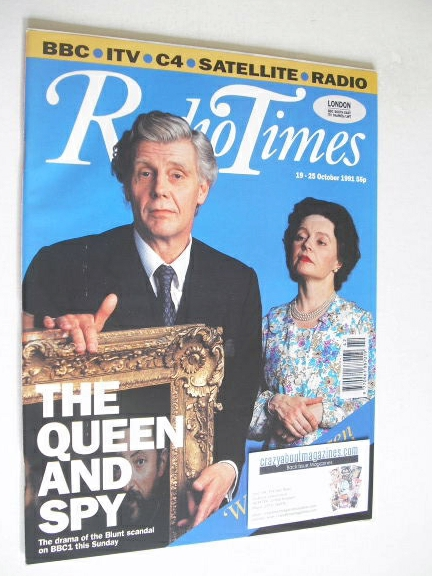 <!--1991-10-19-->Radio Times magazine - James Fox and Prunella Scales cover