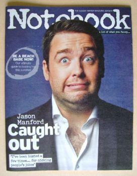 Notebook magazine - Jason Manford cover (22 June 2014)