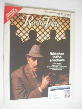 Radio Times magazine - Frank Finlay cover (9-15 March 1985)