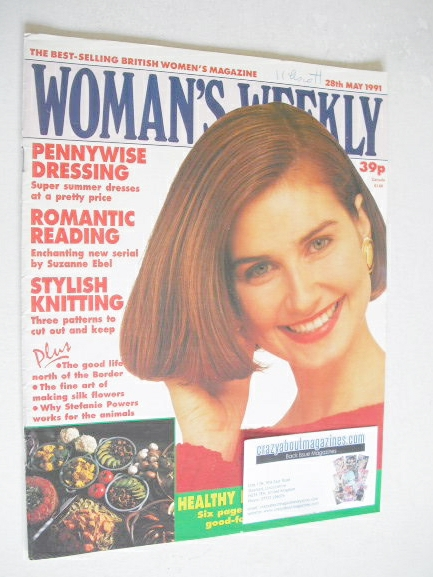<!--1991-05-28-->Woman's Weekly magazine (28 May 1991)